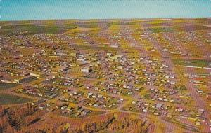 Canada Aerial View Dawson Creek British Columbia