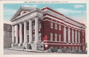 Louisiana Shreveport First Methodist Church South