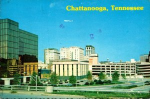 Tennessee Chattanooga Skyline 1976