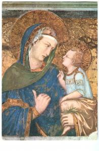 Assisi, La Madonna dei Tramonti, stamped unused Postcard
