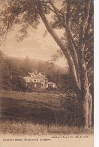 BRANTWOOD CONISTON, Cumbria, England, United Kingdom; Ruskin's Home, PU-1910