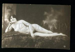 135545 NUDE Woman Plump BELLE Vintage PHOTO VB #195 PC