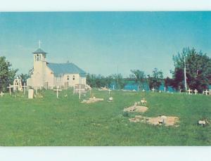 Pre-1980 CEMETERY GRAVEYARD & CHURCH Webster - Sisseton - Watertown ho4597