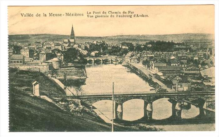Vallee de la Meuse - Mézières , France , 00-10s ; Le Pont du Chemin de Fer