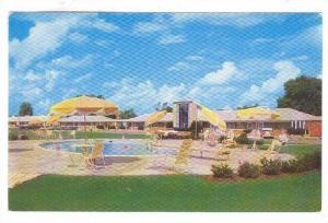 Swimmimg Pool, Motel Cavalier Manor, Richmond, Virginia, 40-60s