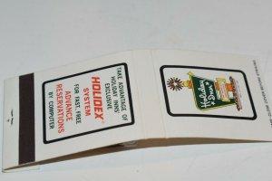 Holiday Inn The World's Innkeeper 20 Strike White Matchbook