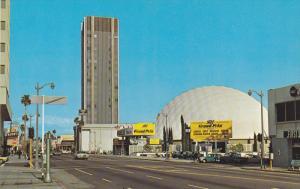 HOLLYWOOD, California, 1940-1960's; Sky Line, Grand Prix, Music City
