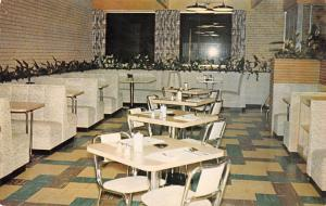 Bismarck ND Ressler's Cafe All Decked Out in White~Planters Wall 1950s