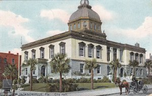 JACKSONVILLE, Florida, PU-1908; City Hall ; TUCK # 2620