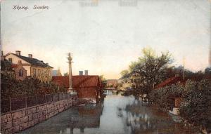 Sweden Old Vintage Antique Post Card Koping Unused