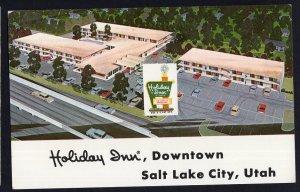 Utah SALT LAKE CITY Holiday Inn (Downtown) 230 West Sixth South - pm1970  Chrome