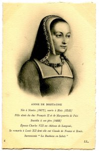 Anne De Bretagne, Duchess of Brittany, France