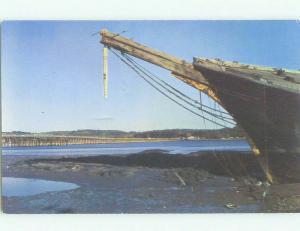 Unused Pre-1980 BRIDGE SCENE Wiscasset Maine ME HQ9399