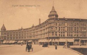 INDIANAPOLIS, Indiana, PU-1908; English Hotel