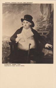 Charles James Fox by Karl Anton Hickel