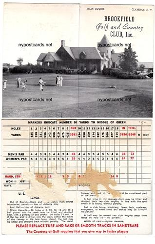 Brookfield Golf & Country Club, Clarence NY / HipPostcard