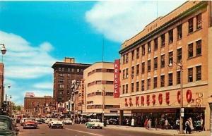 MI, Flint, Michigan, Saginaw, Street, S.S. Kresge Co., Dexter Press No. 8895-C