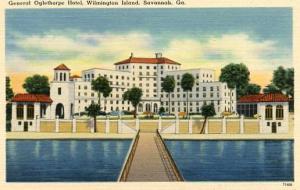 GA - Savannah. General Oglethorpe Hotel, Wilmington Island