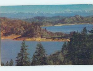 Pre-1980 LAKE SCENE Lake Shasta California CA hp6296