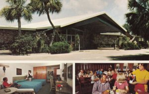 LEHIGH, Florida, 1950-60s; Luxury Resort Motel, Club Coach Lounge & Golden Grill