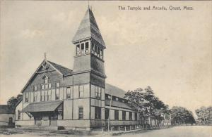Massachusetts Onset The Temple and Arcade