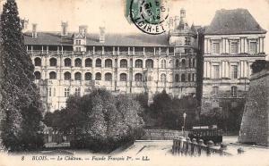 France Blois Le Chateau Facade Francois, Castle Schloss
