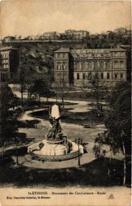 CPA Saint Etienne. Monument des Combattants. Musée. (665338)