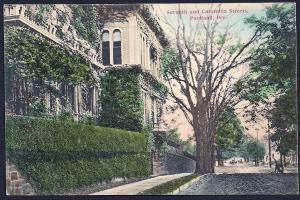 7th & Columbia Streets Portland Oregon unused c1910