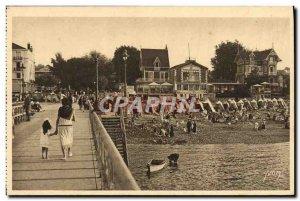 Old Postcard Les Charmes De La Cote D & # 39Argent Sea And Foret A Corner Of ...