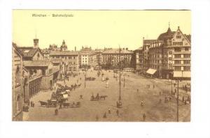 Munchen - Bahnhofplatz, Germany , 00-10s