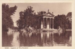 Laghetto Di Villa Borghese, ROMA (Lazio), Italy, 1910-1920s