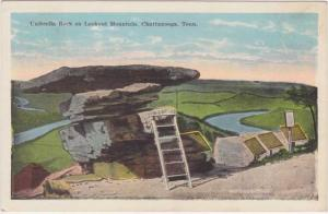 Umbrella Rock on Lookout Mountain Near Chattanooga TN, Tennessee - WB