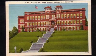 Tennessee colour PC Science Hill High School Johnson City, unused