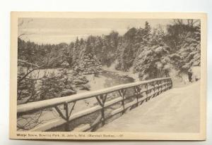 Winter Road, Bowing Park, St.John's Newfoundland, Marshall Studios,