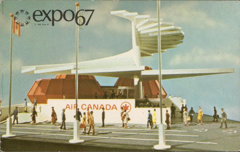 EXPO 67 Air Canada Pavilion Montreal Canada