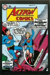 Postcard Art of Vintage DC Comics Action Comics #252 May 1959