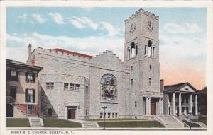 First M. E. Church, Geneva, New York, 10-20s