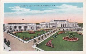 Post Office And Union Station Washington DC