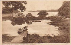 Glengarriff , Ireland , 00-10s : Boat Landing at Grounds of Roche's Hotel