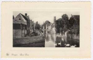 Bruges, Belgium, Quai Vert. 20-40s