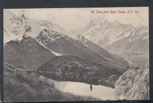 New Zealand Postcard - Mount Cook From Sealy Range    T7084