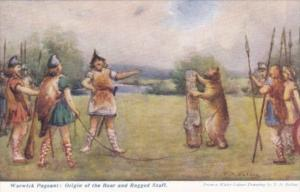 England Warwick Pageant Origin Of The Bear and Ragged Staff