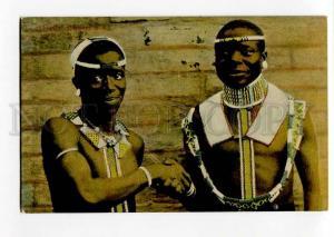 271241 SOUTH AFRICA CAPE TOWN Black native men Vintage PC