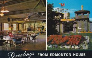 Canada Greetings From Edmonton House Edmonton Alberta