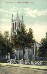First Baptist Church Lexington KY Unused