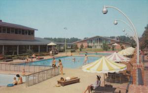 Motor House Swimming Pool , WILLIAMSBURG , Virginia , 50-60s