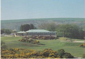postcard Dorset Studland Isle of Purbeck Golf Club The Clubhouse