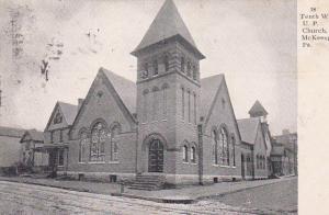 McKEESPORT, Pennsylvania, PU-1903; Tenth Ward U.P. Church
