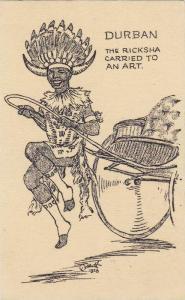 The Ricksha Carried To An Art, Durban, South Africa, 1920-1930s