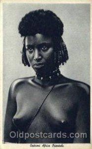 Costumi Africa Orientale African Nude Unused